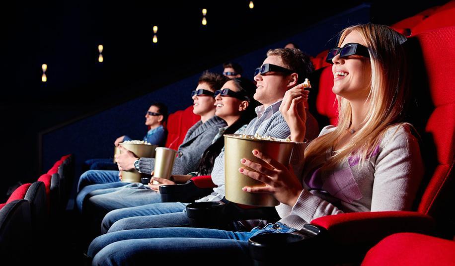 Смотрим кино с друзьями